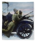 Russian Revolution, 1917 Fleece Blanket