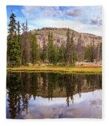 Ruth Lake Trail Fleece Blanket