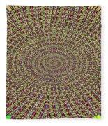 Saguaro Forest Abstract Fleece Blanket