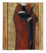 Saint Apollonia Fleece Blanket