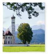 Saint Coloman Church 2 Fleece Blanket