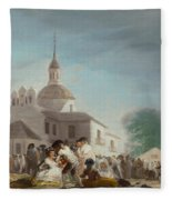 Saint Isidore's Day At The Saint's Hermitage Fleece Blanket