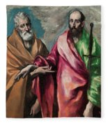 Saint Peter And Saint Paul Fleece Blanket
