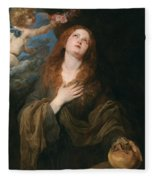 Saint Rosalie Fleece Blanket