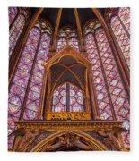 Sainte Chapelle Fleece Blanket