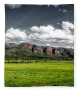 San Juan Mountains Of Colorado Fleece Blanket