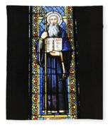 Santa Maria De Montserrat Abbey Fleece Blanket