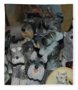 Schnauzers Fleece Blanket