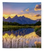 Schwabacher's Reflection Fleece Blanket