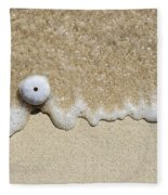 Sea Urchin Fleece Blanket