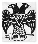 Seal: Freemasonry Fleece Blanket