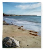 Seascape Wales Fleece Blanket