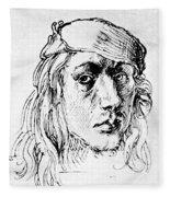 Self Portrait 1493  Fleece Blanket
