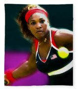 Serena Williams Eye On The Prize Fleece Blanket
