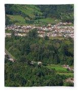 Sete Cidades - Azores Fleece Blanket