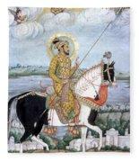 Shah Jahan (1592-1666) Fleece Blanket