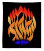 Shema Yisrael Art. Fleece Blanket