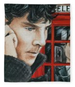 Sherlock Fleece Blanket