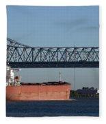 Shipping - New Orleans Louisiana Fleece Blanket