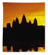 Siem Reap, Angkor Wat Fleece Blanket