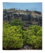 Sigiriya Rock Fleece Blanket