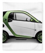 Smart Fortwo Electric Drive Fleece Blanket