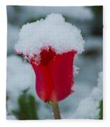 Snowy Red Riding Hood Fleece Blanket