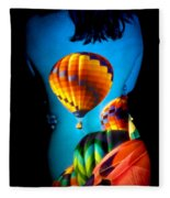 Soarin Beauty Fleece Blanket