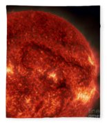 Solar Filament Fleece Blanket