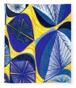 Solar Rays Fleece Blanket