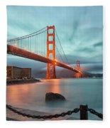 South Tower Fleece Blanket
