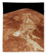 Space: Venus, 1991 Fleece Blanket
