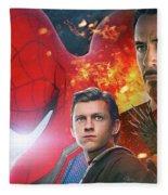 Spider-man Homecoming Fleece Blanket