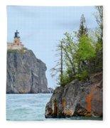 Split Rock Fleece Blanket