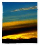 Spokane Sunrise Fleece Blanket
