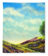 Spring Day Fleece Blanket