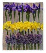 Spring Delights Fleece Blanket