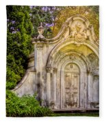 Spring Grove Mausoleum Fleece Blanket