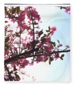 Spring Time Series Painting Fleece Blanket
