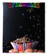 Sprinkles Fleece Blanket