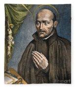St. Ignatius Of Loyola Fleece Blanket