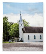 St. Margaret Catholic Church - Springfield Louisiana Fleece Blanket