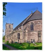St Mary's Church - Tutbury Fleece Blanket