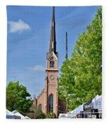 St. Matthew's German Evangelical Lutheran Church Fleece Blanket