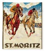 St. Moritz Fleece Blanket