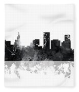 St Paul Minnesota Skyline Fleece Blanket