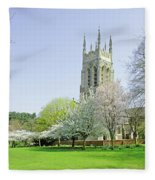 St Peter's Church - Stapenhill Fleece Blanket