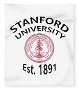 Stanford University Est. 1891 Fleece Blanket