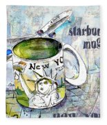 Starbucks Mug New York Fleece Blanket