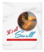 Stay Swell Design  Fleece Blanket